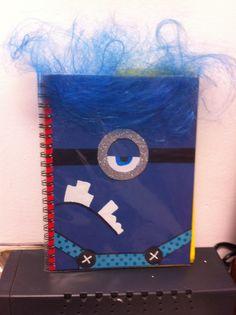 Minion notebook!