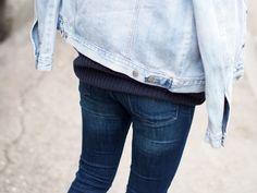 LACK OF COLOUR / Double denim outfit / Denim jacket