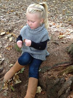 Crochet Pattern Lula Pullover Sizes 12-18mo by OakenThistle