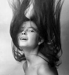 Anna Dymna - Polish actress, Kraków, 1970, fot. Wojciech Plewiński / Forum