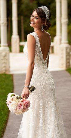 Stella York 2015. Love this dress!