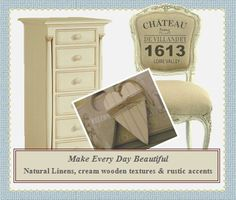 French Style Stencils | Add chic French style to your home, the Chateau De Villandry stencil ...