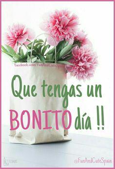 Buenos días corazones! ➡ www.instagram.com/funandcutespain/ -- #frases #buenosdias #flores #goodmorning #flowers #cute #bonito