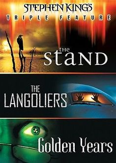 STEPHEN KING'S TRIPLE FEATURE New DVD The Stand The Langoliers Golden Years