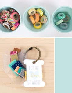 Silhouette Blog: Party Idea :: Washi Tape Exchange