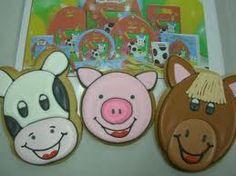 farm animal cookies - Google Search