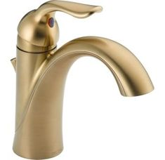 View the Delta 538-MPU-DST Lahara Single Hole Bathroom Faucet with Pop-Up Drain Assembly and Optional Base Plate - Includes Lifetime Warranty at Build.com.