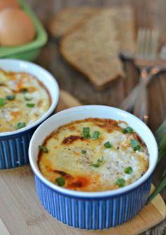 Marinara and Parmesan Baked Eggs