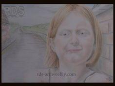 Niya H. Redhead portrait drawing  http://www.rds-art.weebly.com #redhead #ginger #drawing #pencil