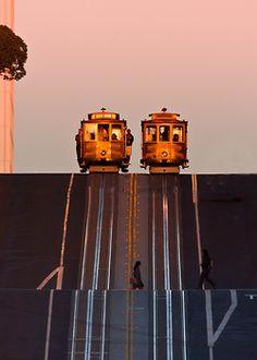 Street Symmetry, San Francisco, California  photo via vanessa