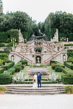 Classical Garden at an Italian Palace | Maria Lamb Photography