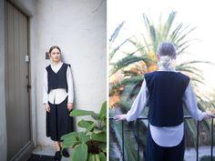 Hair: full, low bun. | Sissy Sainte-Marie - closet visit | cargocollective.com