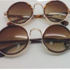 Round frame sunglasses Round Frame Sunglasses, Online Boutiques, Women Wear, Accessories, Shopping, Fashion, Moda, Fashion Styles, Fashion Illustrations