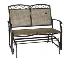 Bliss Hammocks 2-Person Loveseat Glider Chair