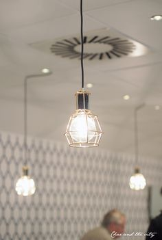 Work Lamp Gold designed by Form Us With Love for Design House Stockholm.