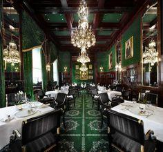 Restaurant of Sacher Hotel - Wien- Austria