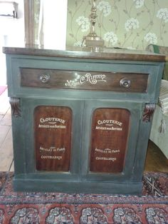 Lovely sideboard with a wonderful make over