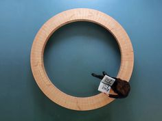 Wood ring bench