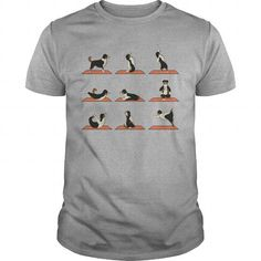 I Love AUSSIE YOGA T shirts