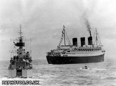 Transport - Last Voyage for the Queen Mary - The Solent | Ocean Liners | Friends Reunited