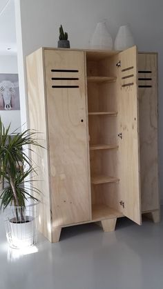 Woodworking Furniture, Plywood Furniture, Custom Furniture, Cool Furniture, Woodworking Projects, Furniture Design, Grande Armoire, Wardrobe Furniture, Furniture Inspiration