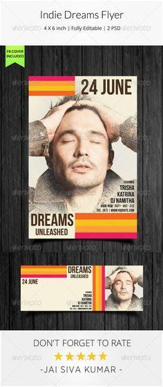 Indie Dreams Flyer
