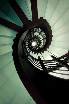 green circle by herbstkind on DeviantArt Winding Stair, Stairs And Doors, In Natura, Stair Steps, Stairway To Heaven, Stairways, Interior Architecture, Interior Design, Fractals