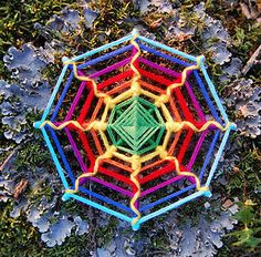 Yarn Mandala Art for sale