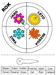 Pro Šíšu: Pracovní listy POZNÁNÍ Cool Kids, Montessori, Calendar, Diagram, Children, Creative, Fun, Pictures, Peda