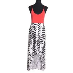 Felicity & Coco Paxton Coral & Zebra Maxi Dress Runs big can fit up to M. With adjustable spaghetti straps. Measurements on request.   Please ask ALL questions before you buy as all sales are final. I try to describe the items I sell as accurately as I can but if I missed something, please let me know FIRST so we can resolve it before you leave < 5rating.   TRADES/PP LOWBALLING (Please consider the 20% PM fee) ✅Offers only through the OFFER BUTTON  100% Authentic items   &  Free home…