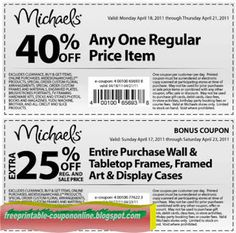 Michaels Coupons Ends of Coupon Promo Codes JUNE 2020 ! It is american largest decorators and provider crafts, for Michaels makers and. Printable Coupons, Free Printables, Michaels Coupon, Display Case, Saving Money, March, Glass Display Case, Display Window, Free Printable