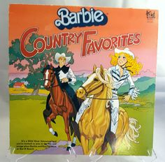 Barbie Country Favorites Record 1981 Vintage by RCVintageNKitsch #Barbie