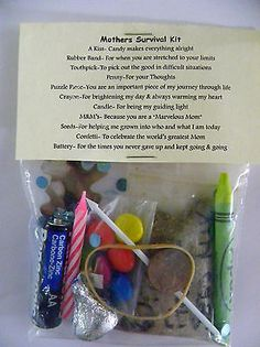 Mothers Survival Kit * 11 items inside - stocking stuffers , Novelty gift