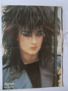 Boy George Wham Mini Poster from Greek Magazines clippings 1970s 1990s   eBay