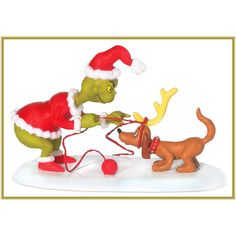 All I Need Is A Reindeer, Grinch Village (#0741)