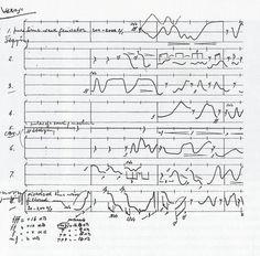 Edgard Varèse, Score for Poème électronique
