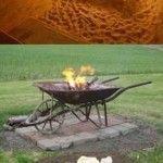 47 incredible diy backyard firepit ideas Fire Pit Grill, Diy Fire Pit, Fire Pits, Patio Plans, Inside Plants, Fire Pit Designs, Garden Deco, Fire Pit Backyard, Outdoor Projects