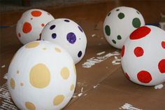 Wants and Wishes: Party planning: Dinosaur Party: Dinosaur Egg Hunt Activity - watermelon dino eggs