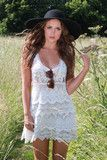 Sirenlondon — crochet fields dress