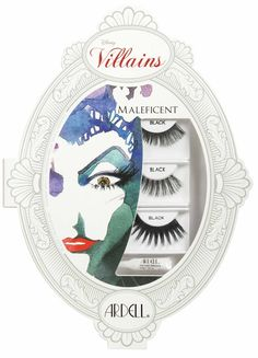 Maleficent Ardell Disney Villains False Lashes Collection for Halloween 2013