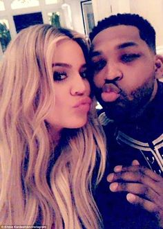 Baby daddy drama: Fans are left wondering whether Khloe will stay with Tristan after video emerged of him kissing other women this week