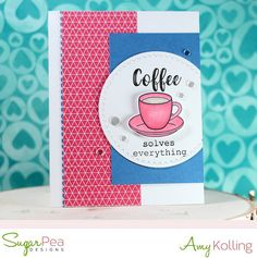 card cup cups coffee mocca latte Summer Coffee Lovers Bloghop Coffee solves everything