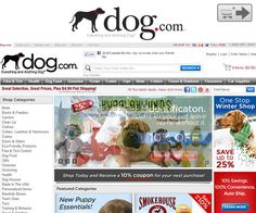 Dog.com | Online stores for Pet supplies