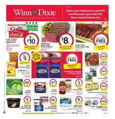 Winn Dixie Weekly Ad December 23 - 29, 2015 - http://www.olcatalog.com/grocery/winn-dixie-weekly-ad.html