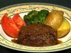 How to Make Hamburg Steak (Recipe) ハンバーグステーキ 作り方レシピ - YouTube
