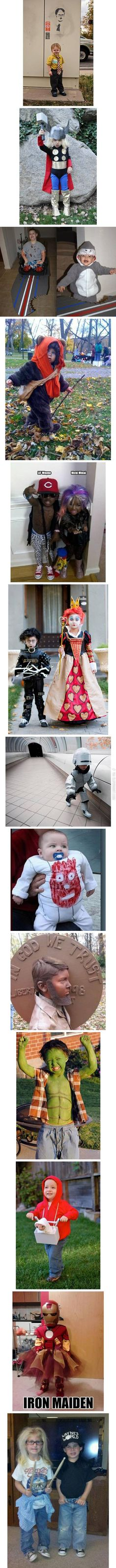 Awesome costumes are awesome. Those kids are going somewhere!! haha