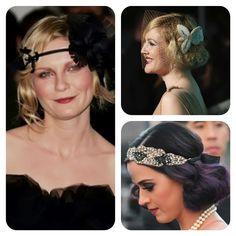 #tocados #diademas y formas de decorar tu pelo para un evento Bride, Lifestyle, Chic, Vintage, Fashion, Hair, Barbers, Fascinators, Head Bands
