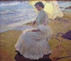 Clotilde at the Beach, Sorolla, Sorolla Museum, Madrid