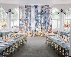 Президиум стол молодых Wedding backdrop details azulejo Portugal dreams in Moscow Villa Rotonda by FLORAL STYLE. Art work