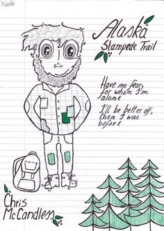 Drawing Chris McCandless